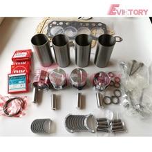 цена на Excavator engine rebuild kit S4L2 S4L piston ring cylinder liner engine bearing gasekt kit