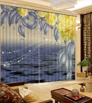 curtains for living room grey color custom curtain fashion decor home decoration for bedroom living room curtain