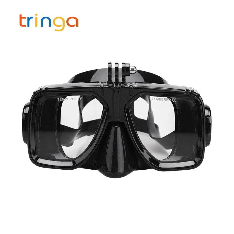 Anti-Fog Waterproof Swimming Goggles Diving Scuba Snorkel Mask for GoPro Lot