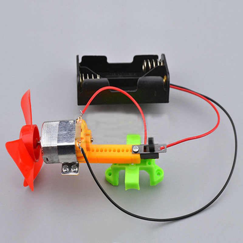 DIY Kids Science Toys Experiment Vacuum Cleaner Handmade Model Invention  Children Experiment Physics Assemble Puzzle Toy