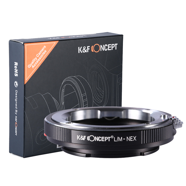 Lens Adapter Ring LM-NEX Compatible With  All for Leica M Mount Lens to Sony NEX E Mount Cameras Free Shipping Tracking Number