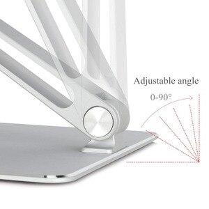 Image 2 - Soporte ajustable para Notebook, aleación de aluminio, elevador libre, para Macbook, Dell, HP, iPad Pro, 7 17 pulgadas