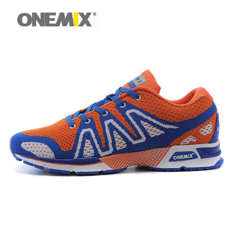 ONEMIX Mens Running Shoes with 6 Colors Weave Mesh Micro Fiber Breathable Athletic Shoes for Men EUR Size 39-44 1035 onemix mens running shoes with 4 colors breathable mesh stylish athletic sport shoes for men sneakers eur size 39 45 1118 1