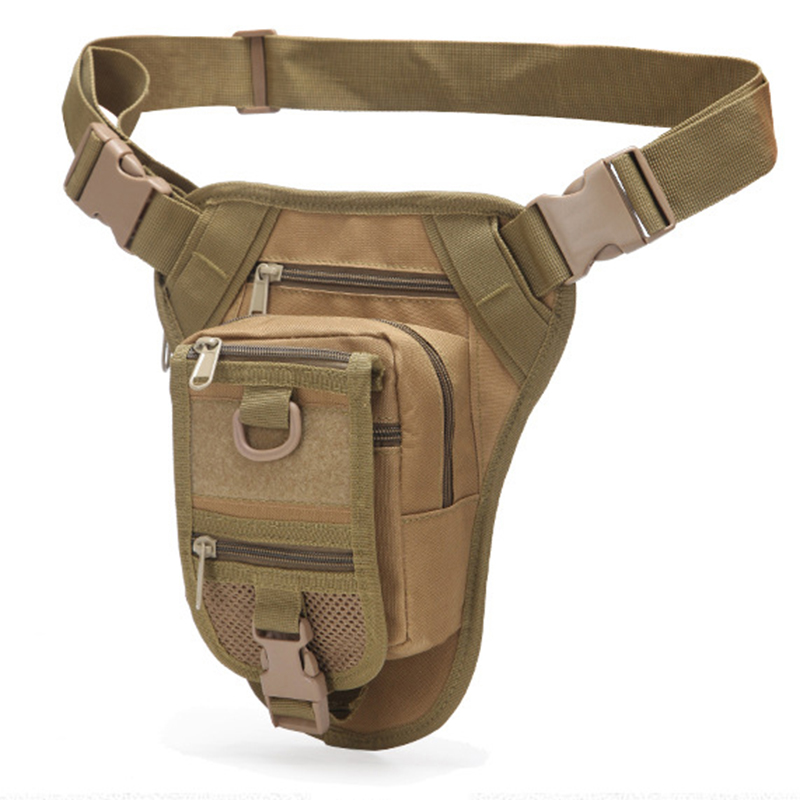High Quality Waist Belt Pack Men Nylon Motorcycle Riding Bag Camouflage Multi-Functional Hip Bum Tactics Military Fanny Bags