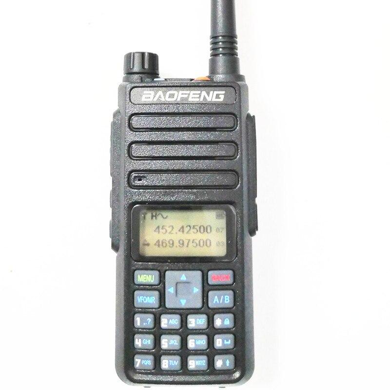 Baofeng DM 1801 Dual Band Tier I II DMR Analog Digital Two Way Radio 136 174MHz