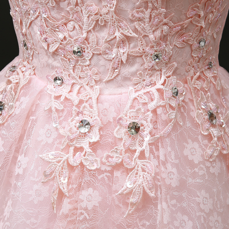 Aliexpress.com: Comprar Ladybeauty Top Rosa Encaje mujeres vestido ...