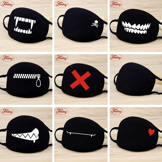 Unisex Face Mouth Mask Camouflage Mouth-muffle Respirator Cartoon Cotton Masks Outdoor Health Care Masks Wholesale Drop Shipping