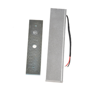 Image 2 - Single Door 12V Electric Magnetic Electromagnetic Lock 180KG (350LB) Holding Force for Access Control silver