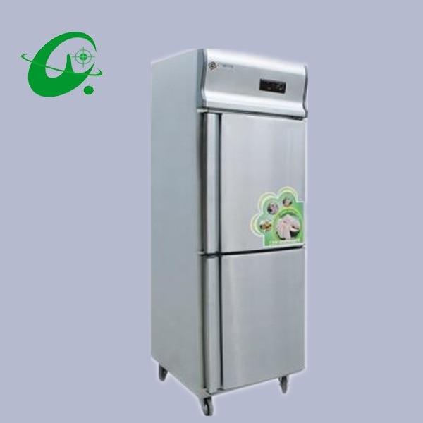 GD0.5L2T--D Kitchen Refrigerator,Two Single-temperature Freezers Brass
