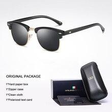Bruno Dunn Brand Design Polarized Sunglasses For Men Women Retro Sun Glasses Female Gunes Gozlugu Ray Zonnebril Mannen lunette
