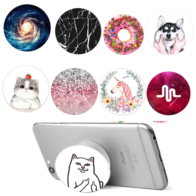Pop Cute Animal Phone Holder Portable Airbag Stander Hand finger Hold Mobile Phone Universal desk pop holder for iPhone Xiaomi