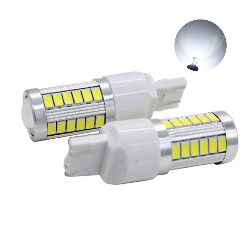 ჱSunkia 2 шт./пара 7440/7443 T20 33led 5630 5730 лампы с Len ...