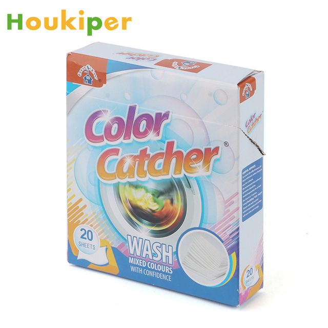 Houkiper Anti Dyed Cloth Laundry Sheets Color Run Remove Sheet Catcher In The Washing Machine