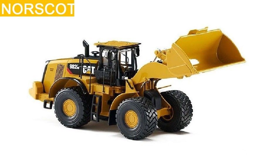 CAT CATERPILLAR 982M WHEEL LOADER 1/50 DIECAST MODEL BY NORSCOT Construction vehicles 55292 industrial display lcd screen12 inch ltm12c283s lcd screen