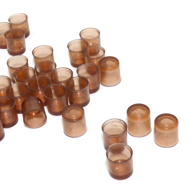 Queen Rearing System Bee Queen Cell Brown Beekeeping Queen Cell Bee Feeding Tools for Beekeepers Bee Hive Tools 1000 Pcs