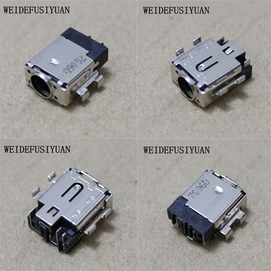 AC DC Jack Plug in Power Port Motherboard InPut Socket Connector for ASUS ZenBook Pro UX550VD UX550VE 10x for asus x52e x53j x53s x54 x54h laptop ac dc power jack port socket connector plug