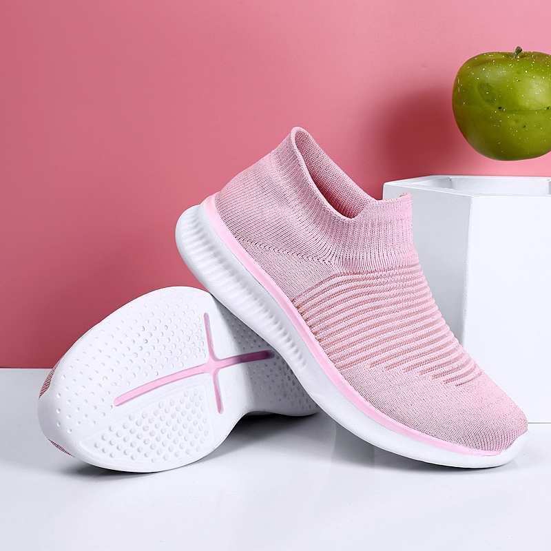 2019 Fashion Lightweight Running Shoes Women Comfortable Socks Shoes Woman Breathable Soft Sneakers Women Zapatos De Mujer