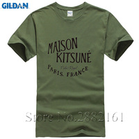 Free Shipping Men S Maison Kitsune Tee T Shirts High Quality Personality Custom Shirts O Neck