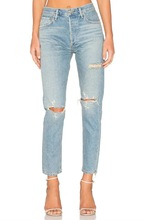 A0315F14 summer new products in Europe and the water hole in jeans Pants 659 #