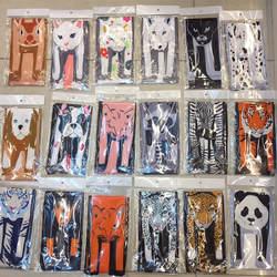 2018 Акция модные ремни для сумок Obag ручки мультфильм животных Форма сумки шарф аксессуары длинный ремешок декоративные