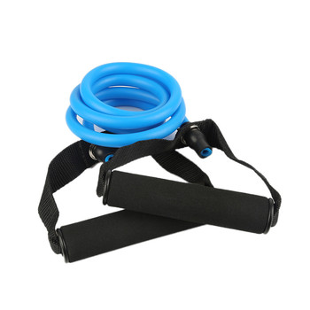 1Pcs Yoga Fitness Equipment Resistance Exercise Band Tubes Stretch Workout Pilates Home Gym Training Equipment 2019 Hot Sale 4