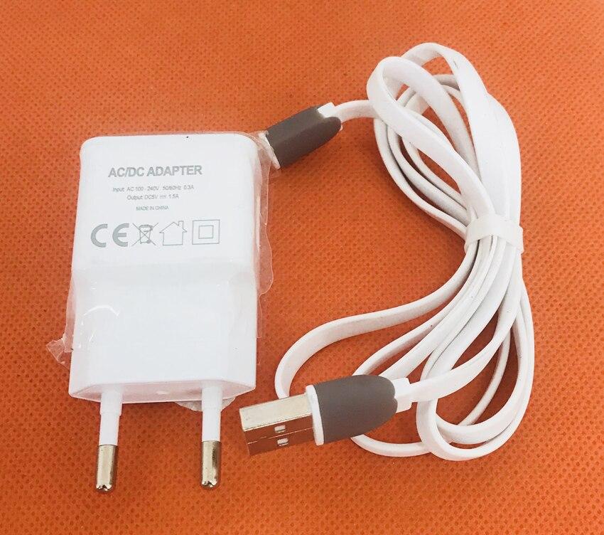 D'origine Chargeur de Voyage Plug Adapter + USB Câble pour Ulefone Vienne MTK6753 Octa Core 4G 5.5 FHD 1920x1080 Livraison gratuite