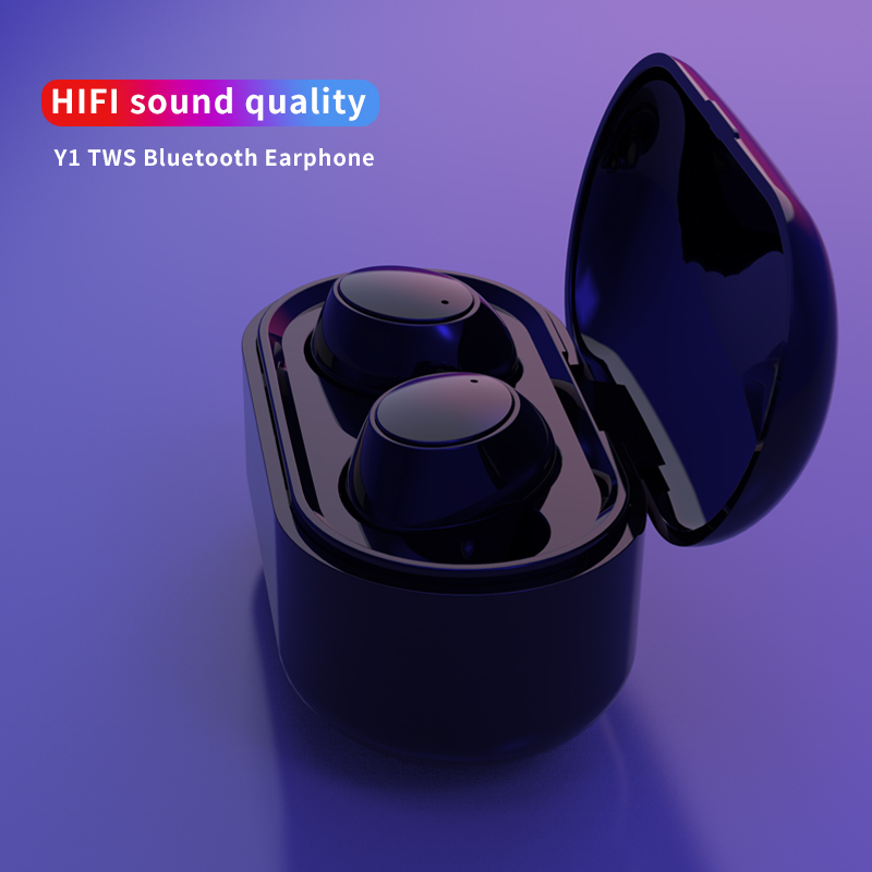 New Arrive Y1 PK <font><b>i8</b></font> i13 i12 i11 i10 i9 <font><b>TWS</b></font> True Wireless <font><b>Earphone</b></font> Bluetooth 1:1 Earbuds Binaural Call Sports Stereo Dropshipping image