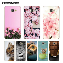 CROWNPRO Soft TPU FOR Coque Samsung Galaxy A3 2016 Case Cover SM-A310f A310 Phone Back Protective FOR Funda Samsung A3 2016 Case