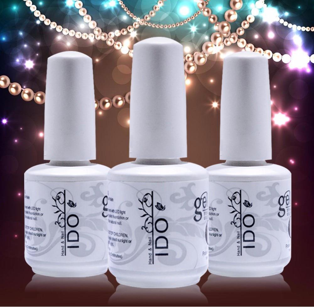 IDO Gel Nails Polish Set Uv Gel Varnishes Beauty 12 Pcs Free Shipping 10 Color 1