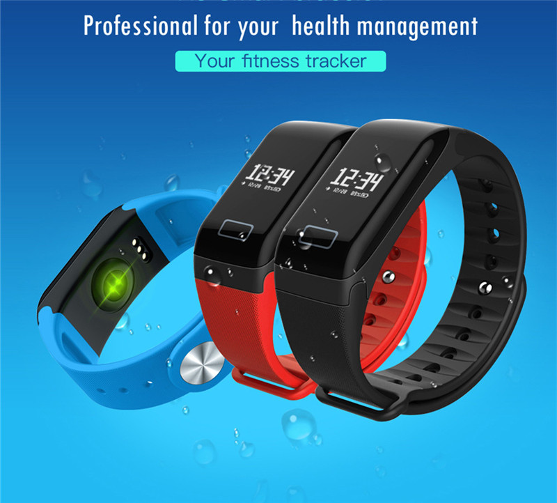 F1 blood pressure reading smart bracelet