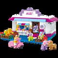 Sluban creativo lindo pink series dream girls diy bloques de construcción ladrillos de construcción enlighten juguetes para niños de regalo z126