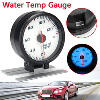 High Quality 60mm Car LED backLight Stepper Motor 20 120 Meter Water Temperature Gauge W/ Sensor New Car meter Water Temp Gauge
