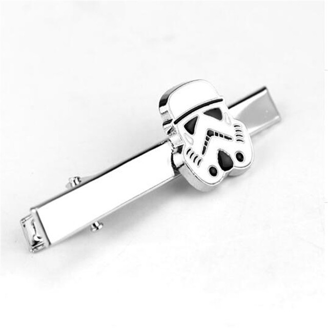 Star Wars Darth Vader Tie Clips Cosplay Jewelry Suit Clipscufflinks Clasp