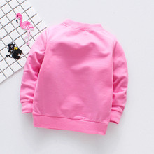 Girl Autumn Cat Long Sleeve Shirts Outfits