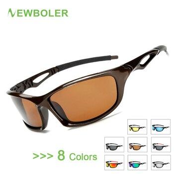 9edad4a55b Gafas de pesca polarizadas NEWBOLER gafas de protección para deportes al  aire libre para hombre gafas de sol de pesca de senderismo