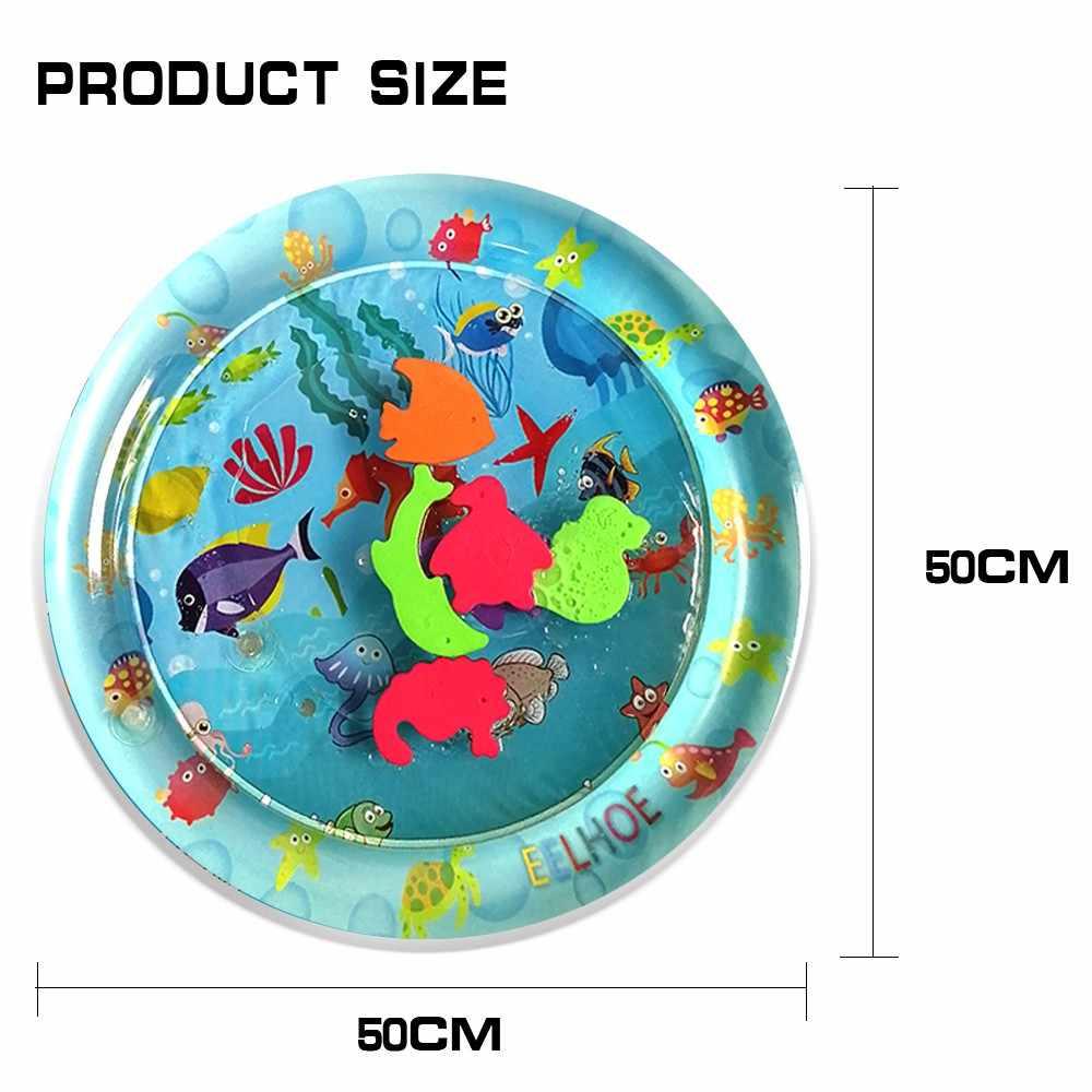 Детские водные игровые коврики Надувные Младенцы животик время Playmat игрушки забавная деятельность ковер руки-глаз координации игрушки для детей