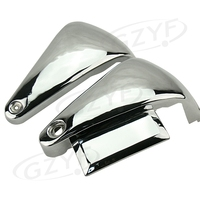 Motorcycle Battery Side Covers For Kawasaki Vulcan VN800A / VN800 1995 2016 Chrome Metal
