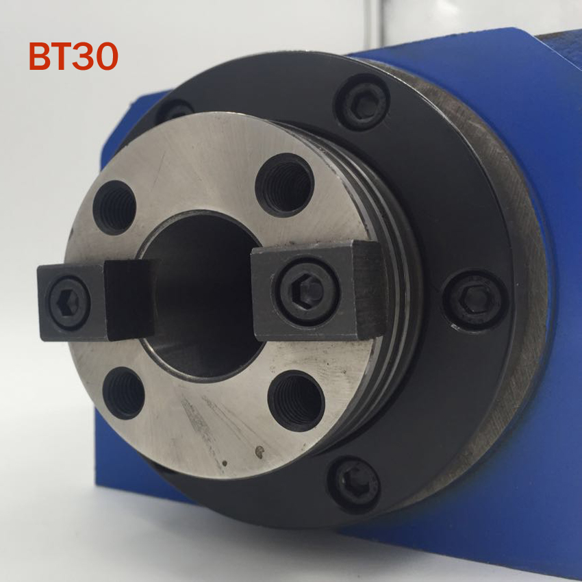 CH002 BT30 Spindle Taper Chuck 0.37KW Power Head Power Unit Machine Tool Spindle Max.RPM 8000rpm for Milling Machine HOT SALE цена