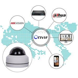 Image 2 - 5MP Mini PTZ IP Kamera im freien Wasserdichte 1080P HD speed dome kameras PTZ 4x motorisierte zoom home security kameras nacht vision