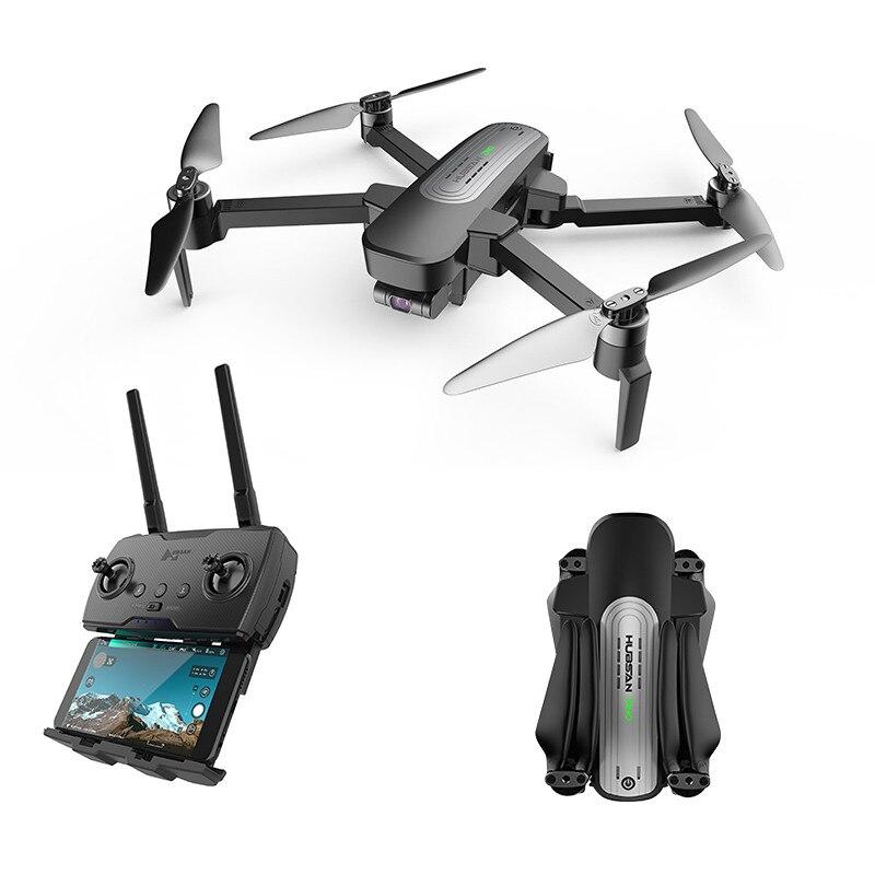 Hubsan H117S Zino GPS 5G WiFi 1KM FPV avec caméra 4K UHD 3 axes cardan RC Drone quadrirotor RTF noir/blanc - 4