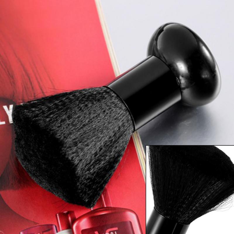 1Pcs Barber Neck Duster Brush Salon Stylist Barber Hair Cutting Sweep Hair Cleaning Brush