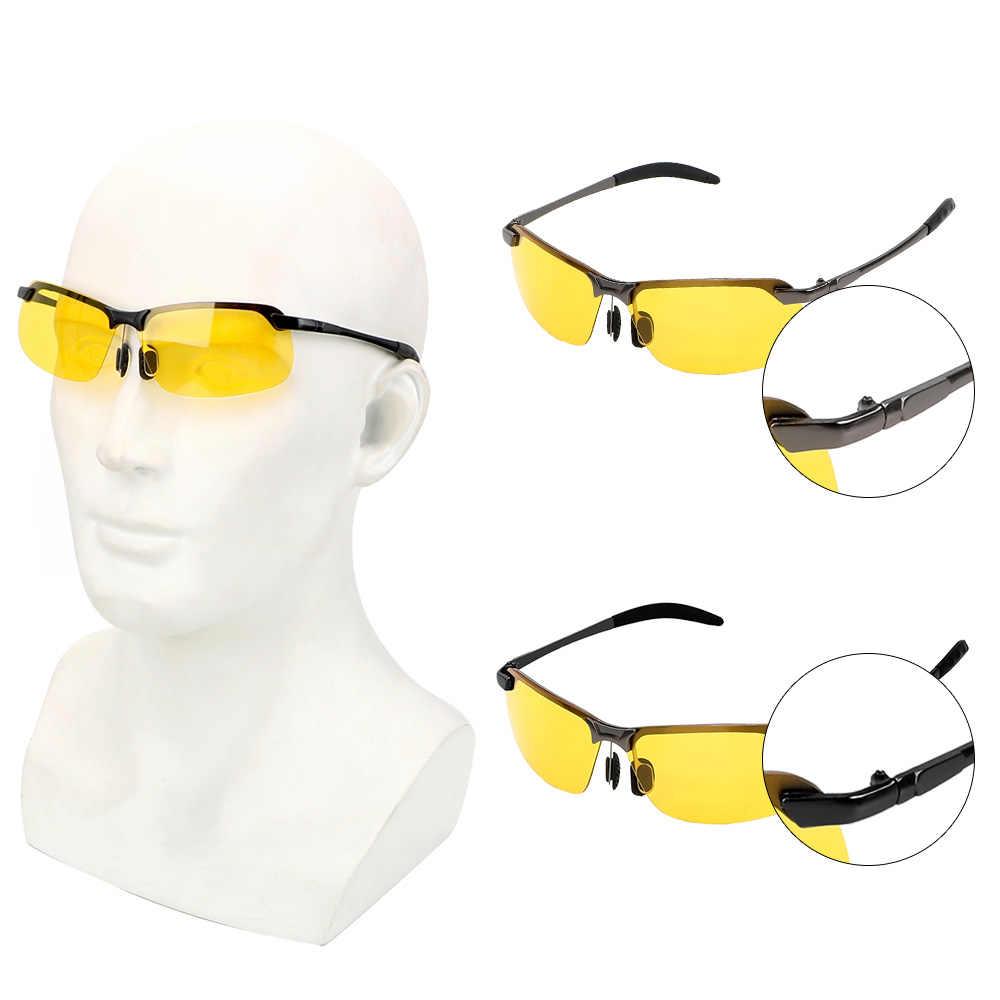 Leepee車ドライバゴーグルUV400 駆動メガネ偏光サングラスuv保護眼鏡ナイトビジョンサングラスサングラス