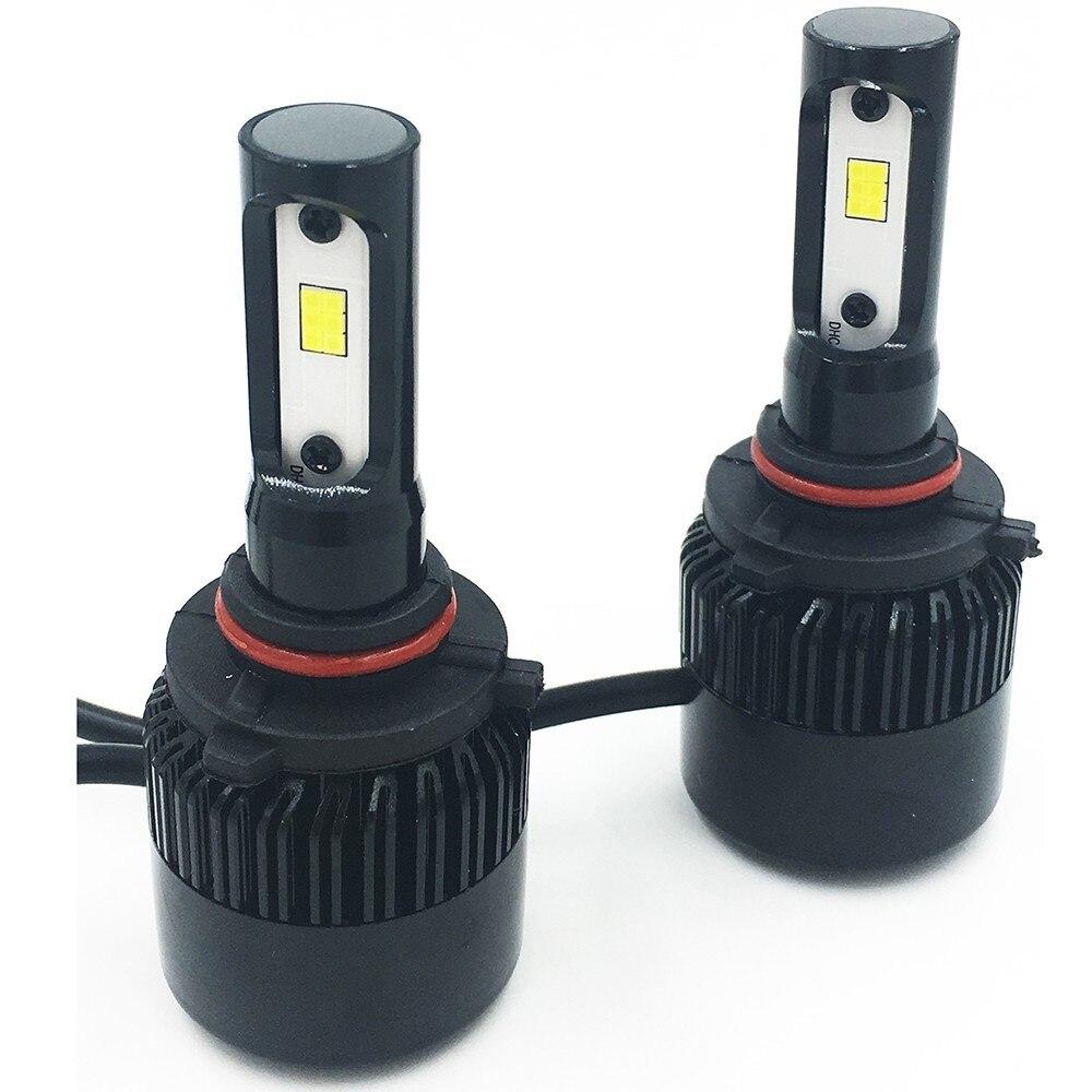 2X S2 CSP автомобильная светодиодная лампа фара Fascio 9006 9005 72W 6000 K 8000LM автомобильный светильник Nebbia автомобильный Стайлинг