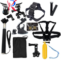 GoPro accessories 15 in 1 Family Kit Go Pro SJ4000 SJ5000 SJ6000 accessories set package for GoPro HD Hero 1 2 3 3+ 4 xiaomi yi