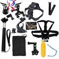 GoPro acessórios 15 em 1 Família Kit Ir Pro acessórios SJ4000 SJ5000 SJ6000 pacote conjunto para gopro hd hero 1 2 3 3 + 4 xiaomi yi