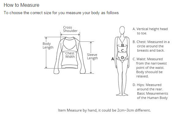 How to measure a blouse