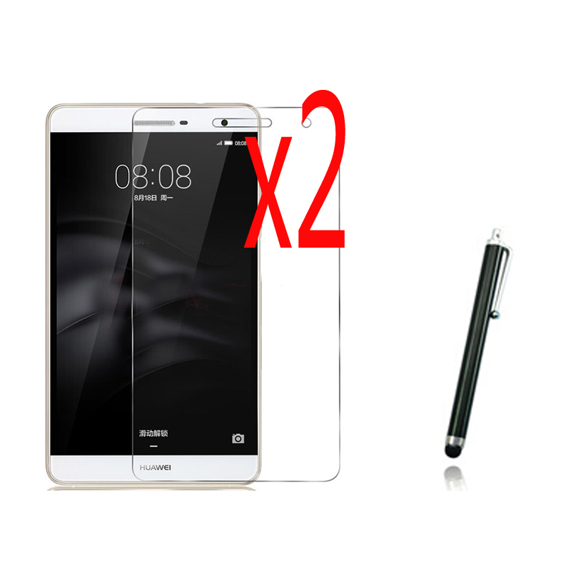 3in1 2x Clear LCD Protecteur D'écran Films De Protection Film Gardes + 1x Stylus Pour Huawei Mediapad T2 7.0 Jeunes Pro M2 Lite PLE-703L