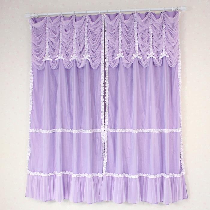 de lujo de encargo prpura moderna cortinas de tul para windows nios sala de estar