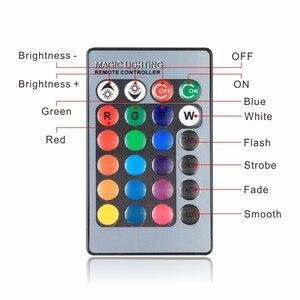 Image 3 - LED RGB Bulb 3W 5W E27 E14 16 Color Changing RGB Magic Light Bulb Lamp 85 265V 110V 220V RGB Led Spotlight with Remote Control