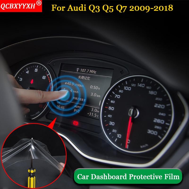 QCBXYYXH Car Styling 1pcs\/set PET Dashboard Paint Protective Film Light Transmitting Car
